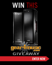 Gear4Music Stagesource Giveaway