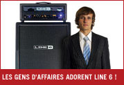 Line 6 impressionne les hommes d'affaires ! Nous les remercions !