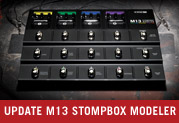 Free Update! Models and More for M13 Stompbox Modeler