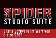 Spider Studio Suite Promotion