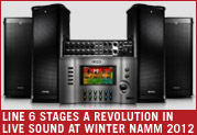 Line 6 Stages a Revolution in Live Sound at Winter NAMM 2012