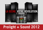 Line 6 à Pro Light + Sound 2012