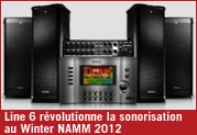 Line 6 révolutionne la sonorisation au Winter NAMM 2012