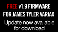 Free v1.9 Update for James Tyler Variax