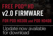 : POD HD300/POD HD400V2.0