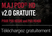 Disponible: Mise  jour gratuite v2.0 pour POD HD400 et POD HD300
